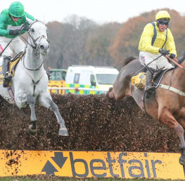 Lostintranslation, Bristol De Mai and Clan Des Obeaux Set For Epic Battle In Betfair Chase Showdown