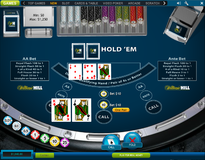 Casino hold'em top pair called