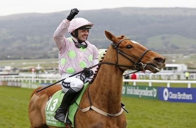 Annie Power, last year's Champion Hurdler will not be returning to defend her crown..jpg