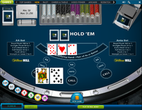 Casino hold'em no hand folded losing ante and AA